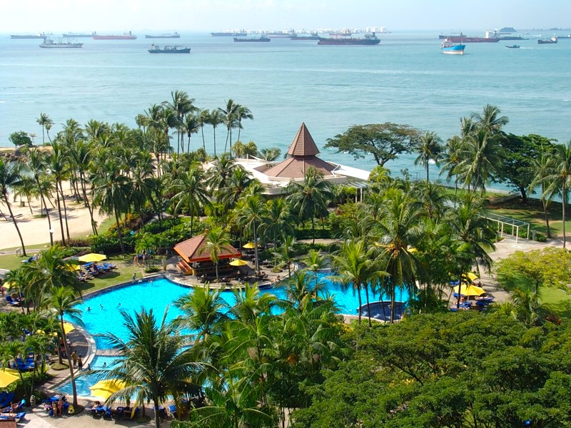 Сингапур пляжный отдых